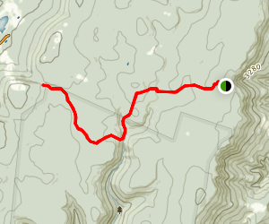 Breathed Mountain Trail Map