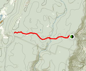 Blackbird Knob Trail Map