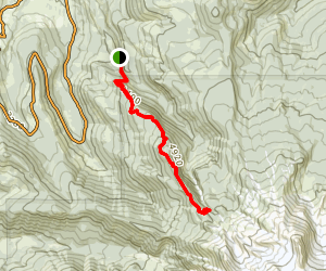 Mazama Trail Map