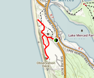 Fort Funston Trail Map