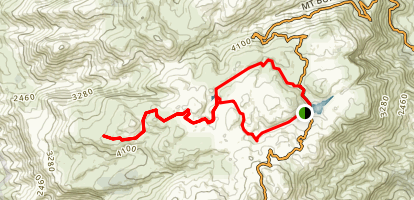Mount Buffalo Plateau Loop Map