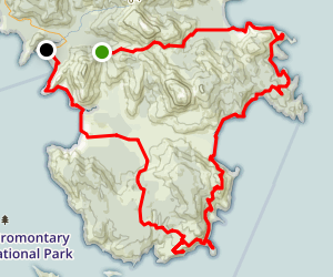 Wilsons Promontary Loop Map