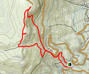 Mount Wellington Loop Map