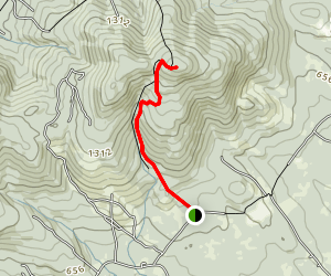 Green Mountain Climb Map