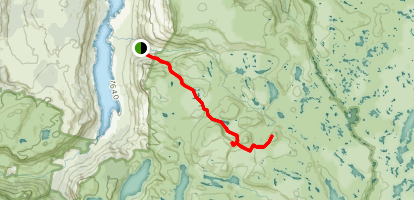 Mount Jerusalem Track Map