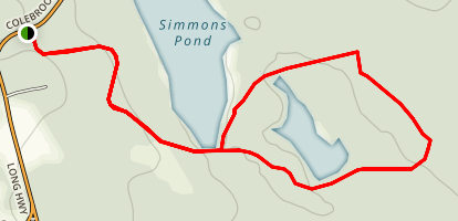 Farmside Simmons Pond Loop Map