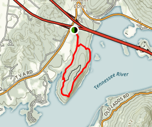 Little Cedar Mountain Trail Map