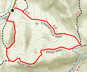 Chaparral Loop Trail Map