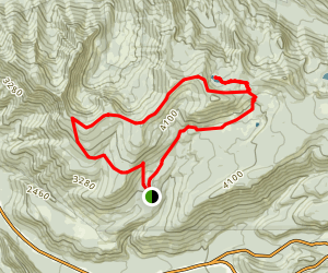 Cast Lake Loop Map