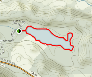 Kirkwood Lake Loop Map