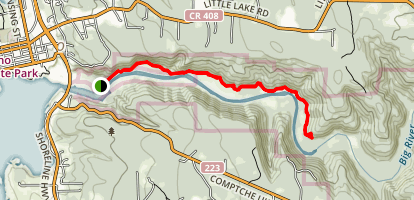 Big River Trail Map