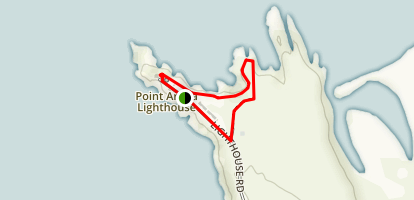 Point Arena Lighthouse Nature Trail  Map