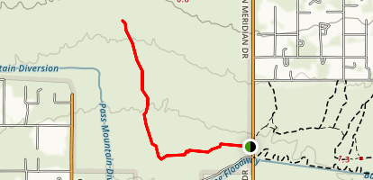 Ruidoso Trail Map