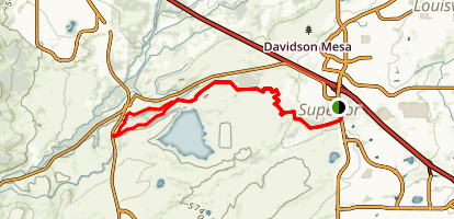 Mayhoffer Trail Loop Map