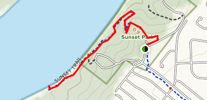 Sunset Riverside Trail Map