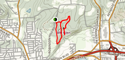 The IBM Glen Trail Map