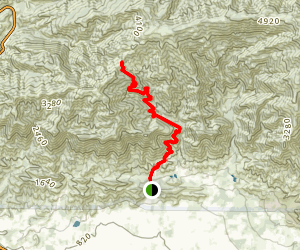 Gridley Trail (CLOSED) Map