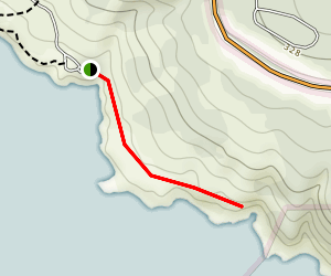 South Gerstle Trail and the Southern Bluffs Map