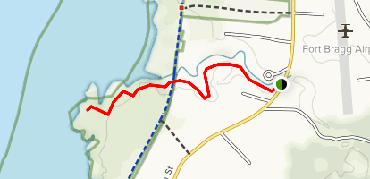 Virgin Creek Map