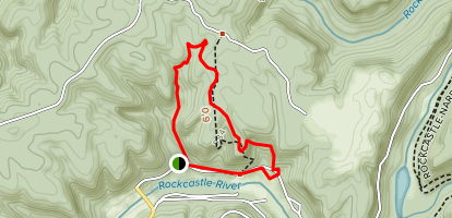 Bee Rock Trail Map