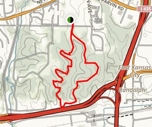 Hidden Valley Natural Area Loop Map