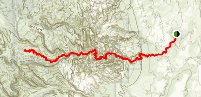 Sheets Gulch Trail Map