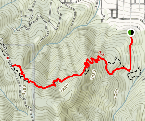 White Rabbit Trail Map