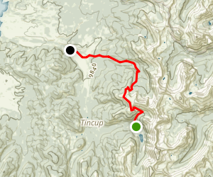 Timberline Trail to Sanford Trail Map
