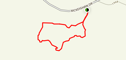 Buckhorn Campground Nature Trail Map