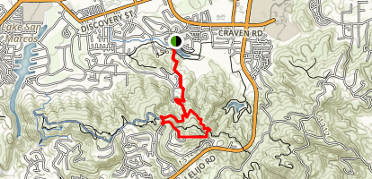 Double Peak Trail Map
