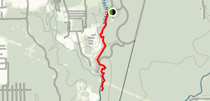 Peach Creek Trail Map