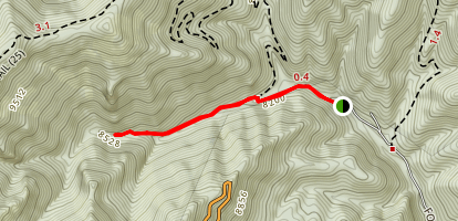 North Eagle Creek Trail Map