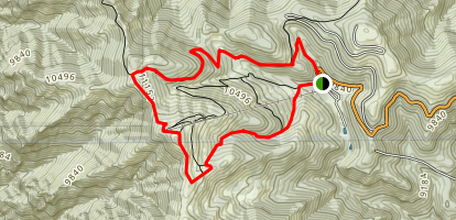 Lookout Mountain Loop Map