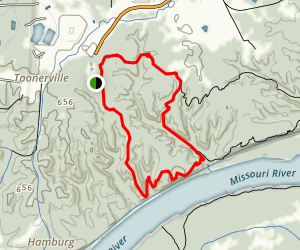 Lewis and Clark Trail and Clark Trail Loop Map