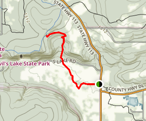 Rozno's Meadow Trail Map