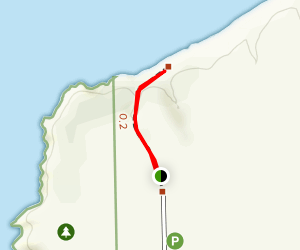 St George Light House View Trail Map