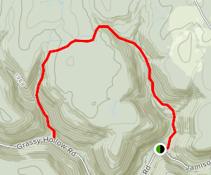 Sullivan Run Trail to Lewis Falls Map