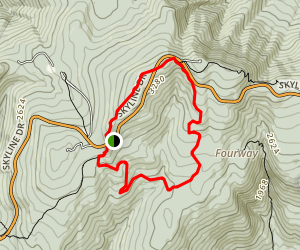 Sugarloaf Loop via Appalachian Trail Map