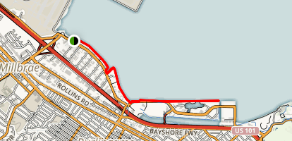Bayshore Trail Map