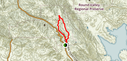 Volvon Loop Trail Map