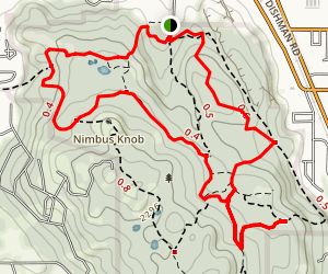 Dishman Hills Natural Area Trail Map