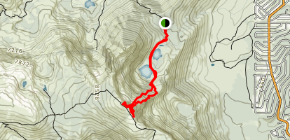 Echo Peak Map