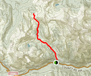 Browns Cabin Trail [CLOSED] Map