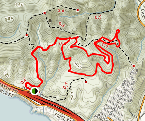 Peekaboo Loop Trail Map