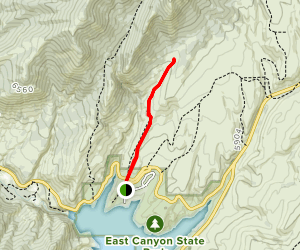 East Canyon State Park Trail [PRIVATE PROPERTY] Map