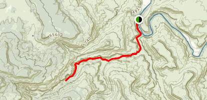 Dominguez Canyon Map