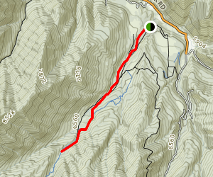 Big Springs Hollow Trail Map