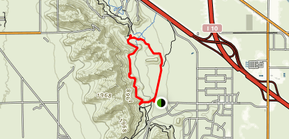 Spine Trail Loop Map