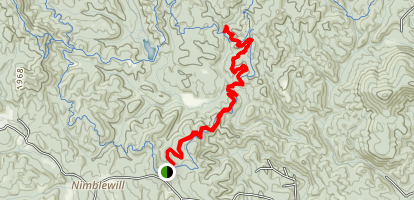 Short Bull Trail Map