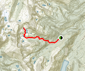 Missouri Lakes Trail Map